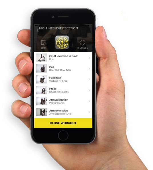 Gold Gym BC App