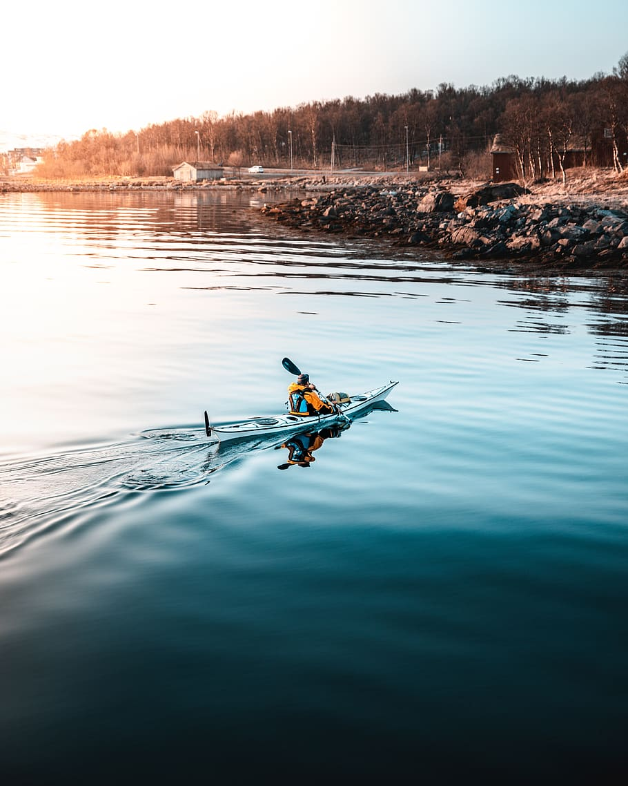 4 Arm Exercises That'll Help You Feel Stronger While Kayaking
